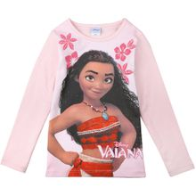 DISNEY Langarmshirt 'Disney Vaiana' rosa