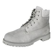 Timberland Unisex-Kinder 6 in Classic Boot Klassische Stiefel, Grau (Grey Monochromatic 65), 37.5 EU