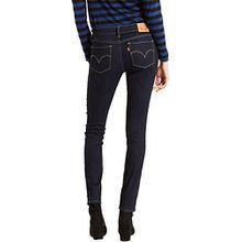 Levi's Damen Jeans Skinny Skinny Jeans 711 SKINNY 0000 LONE WOLF, Farbe: Dunkelblau, Größe: 26/28