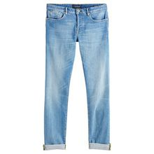 "Herren Jeans ""Ralston Lucky Blauw"" Regular Slim Fit"
