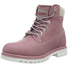 KangaROOS Damen Riveter W I Desert Boots, Pink (Pink 661), 39 EU
