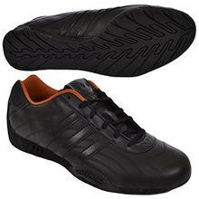 adidas Originals ADI RACER LO M V24494, Unisex - Erwachsene Sneaker, Schwarz (BLACK1/BLACK), EU 42 2/3 (UK 8.5)