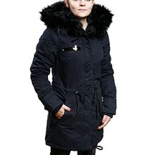 Khujo Damen, Winter, Jacke, Mantel, Dorota, 1065CO173-450, 450 navy, M