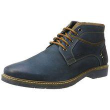 Manitu Herren 660409 Klassische Stiefel, Blau (Blau), 45 EU
