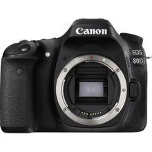 Canon »EOS 80D« Spiegelreflexkamera (24,2 MP, WLAN (Wi-Fi), NFC, 45-Punkt-AF-System, Flacker-Erkennung, Intelligenter Sucher mit 100 % Bildfeldabdeckung, Dual Pixel CMOS AF)