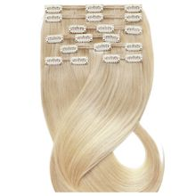 Desinas Produkte Clip In Extensions Ombré blond Clip In Extensions 1.0 st