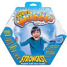 Riesenball Super Wubble Bubble blau, inkl. Pumpe