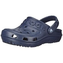 crocs Hilo Clog Kids, Unisex - Kinder Clogs, Blau (Navy), 23/24 EU