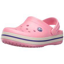 crocs Unisex-Kinder Crocband Clog Kids, Rosa (peony pink/stucco), 23/24 EU