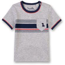 fiftyseven by Sanetta T-Shirt - Streifen an der Brust