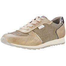 Dockers by Gerli Damen 38ML202-687920 Sneakers, Gold (Gold 920), 41 EU