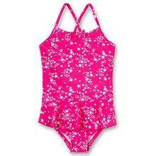 Sanetta Mädchen Badeanzug 430393, Rosa (Heavy Pink 3875), 128