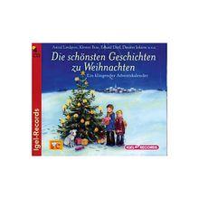 Die schönsten Geschichten zur Weihnachtszeit, 4 Audio-CDs Hörbuch