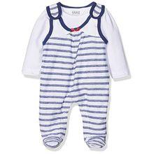 Kanz Baby-Mädchen Strampler + T-Shirt 1/1 Arm, Mehrfarbig (Y/D Stripe 0001), 50