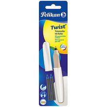 Tintenroller Twist R457 White Pearl, inkl. 2 Rollerpatronen