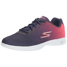 Skechers Damen Go Step Lite-Interstelllar Sneaker, Blau (Navy/Pink), 41 EU