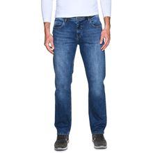 Mishumo Straight Jeans in blau für Herren