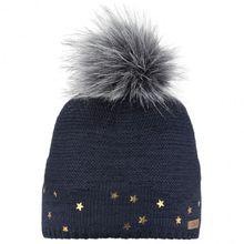Barts - Kid's Nerida Beanie - Mütze Gr 53 beige/grau;schwarz/grau