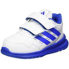 adidas Unisex Baby AltaRun CF Sneaker, Mehrfarbig (Ftwwht/Blue/Midgre Ba9413), 25 EU