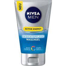 Nivea Männerpflege Gesichtspflege Nivea Men Active Energy Gesichtspflege Waschgel 100 ml