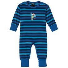 Schiesser Baby-Jungen Zweiteiliger Schlafanzug Capt´n Sharky Anzug mit Vario, Blau (Blau 800), 68 (Herstellergröße: 068)
