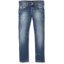 Scotch & Soda Shrunk Jungen Jeans Nos-Strummer-Meeting Point, Blau (Meeting Point 732), 116 (Herstellergröße: 6)