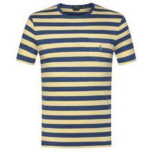 Polo Ralph Lauren T-Shirt Custom Slim Fit - Gelb (L, S, XL)