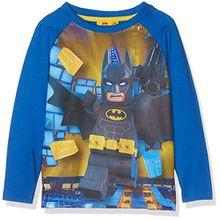 Lego Batman Jungen T-Shirt 161389, Bleu (Bleu), 10 Jahre (Hersteller Größe: 10 Jahre)