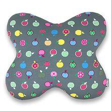 Apart Basic Jersey Kissenbezug für Schmetterlingskissen und Seitenschläferkissen Acamar in verschiedenen Farben und Mustern (Apple)