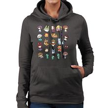Studio Ghibli Artworks Women's Hooded Sweatshirt