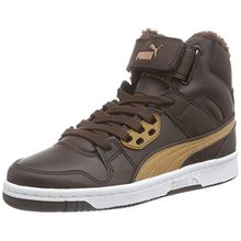Puma Rebound Street Fur, Unisex-Erwachsene Hohe Sneakers, Braun (Chocolate Brown-Chipmunk Brown 01), 40 EU (6.5 Erwachsene UK)