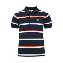 LACOSTE Poloshirt marine / mischfarben