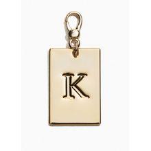 Monogram Keyring - Brown