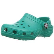 crocs Classic Clog Kids, Unisex - Kinder Clogs, Blau (Tropical Teal), 28/29 EU