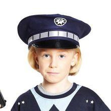 blaue Polizeimütze Jungen Kleinkinder