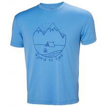 Helly Hansen - Skog Graphic T-Shirt - T-Shirt Gr S blau