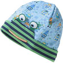 Topfmütze  blau Jungen Kleinkinder