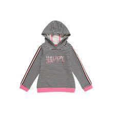 S.Oliver Junior Mädchen - Sweatshirts & Sweatjacken 'SWEATSHIRT LANGARM' pink / schwarz / weiß