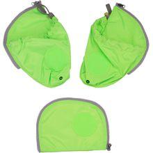 ergobag Zubehör pack Seitentaschen Zip-Set Grün