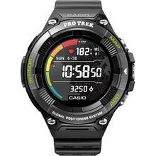 CASIO PRO TREK Smart PRO TREK Smart, WSD-F21HR-BKAGE Smartwatch (Wear OS by Google)