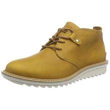 Ecco Damen Elaine Flatform Chukka Boots, Gelb (Oak/Whisky 59640), 37 EU