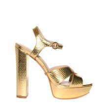 Buffalo Sandaletten in gold für Damen