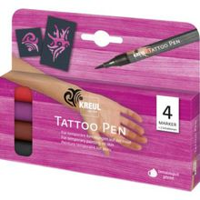 C. KREUL Tattoo Pen 4er-Set Tribals