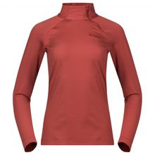 Bergans - Women's Stranda Half Zip - Kunstfaserunterwäsche Gr M;XS rot;schwarz