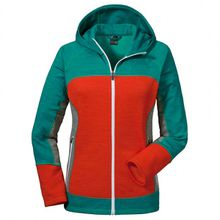 Schöffel - Women's Fleece Hoody Trentino - Fleecejacke Gr 34;36;38;40;42;44;46;48 rot/türkis;schwarz/blau;rosa/rot