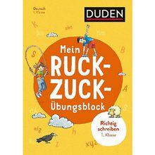 Buch - Mein Ruckzuck-Übungsblock Richtig schreiben 1. Klasse