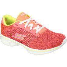 Skechers - Go Walk 4 Exceed Damen Trainingsschuh (pink) - EU 40,5 - UK 7,5
