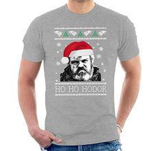 Game Of Thrones Ho Ho Hodor Christmas Knit Men's T-Shirt