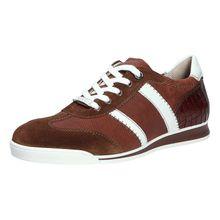 Lloyd Sportiver Schnürschuh/Sneaker Sneakers Low braun Herren