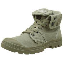 Palladium Damen Pallabrousse Baggy Hohe Sneaker, Grün (Vetiver/Burnt Olive K81), 40 EU